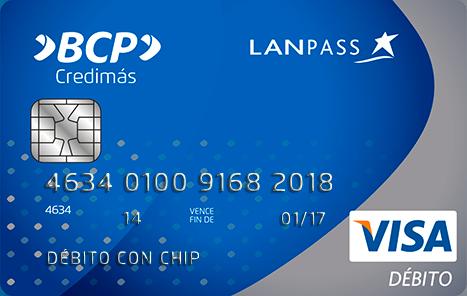 Bcp tarjetas bcp lanpass Habilitar visa debito para el exterior